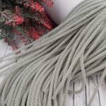 Double Twisted French Wire, 4 mm diameter,  Silver Color, K1092