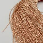 French Wire/Bullion Wire, 1 mm diameter, Rose Gold Color, K1193
