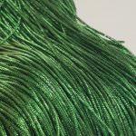 French Wire/Bullion Wire, 1 mm diameter, Dark Green Color, K4773