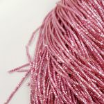 French Wire/Bullion Wire, 1 mm diameter, Pale Pink color, K4972