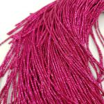 French Wire/Bullion Wire, 1 mm diameter, Pink color, K625