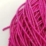 French Wire/Cut Wire, 2 mm diameter, Pink Color, K1175
