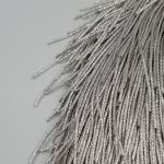 French Wire/Cut Wire, 2 mm diameter, Silver Color, K1180