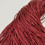 French Wire/Bullion Wire, 1 mm diameter, Dark Red Color, K2076
