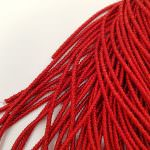 French Wire/Cut Wire, 1.5 mm diameter, Red Color, K4769