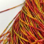 French Wire/Bullion Wire, 1 mm diameter, Multi-color, K4774