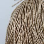 French Wire/Cut Wire, 1.5 mm diameter, Pale Gold Color, K6142