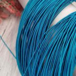 Stiff French Wire, 1 mm diameter, Turquoise Color, KS6590