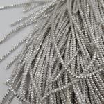 Spiral French Wire, 2 mm diameter, Silver Color, K1174
