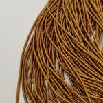 Spiral French Wire, 1.5 mm diameter, Antique Gold Color, K1181