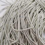 Спиральная канитель, Серебряный цвет, 1.5 мм толщина, K1184