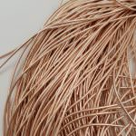 Soft French Wire, 1 mm diameter, Rose Gold Color, K1187