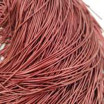 Soft French Wire, 1 mm diameter, Burgundy Colour, K2012