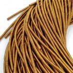 Soft French Wire, 4 mm diameter, Golden Brown Color, K4261