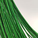 Spiral French Wire, 1.5 mm diameter, Green Color, K4751