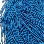 Spiral French Wire, 1.5 mm diameter, Deep Blue Color, K4755