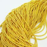 Spiral French Wire, 2 mm diameter, Yellow Gold Color, K4969