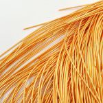 Soft French Wire, 1 mm diameter, Peach Color, K6134