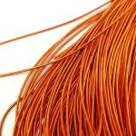 Soft French Wire, 1 mm diameter, Orange Color, K6135