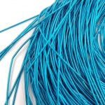 Soft French Wire, 1 mm diameter, Sea Blue Color, K6136