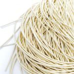 Soft French Wire. 1 mm diameter. Creme Color, K6138