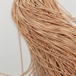 Soft French Wire. 0,7 mm diameter. Beige Color, K6146