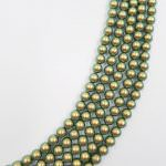 5810 Crystal Iridescent Green Pearl, 2-6mm