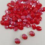 4122 Swarovski Oval Rivoli Crystal Royal Red 8x6