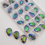 4320 Pear Shape Swarovski Crystal Paradise Shine 18x13