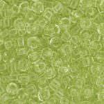 Бисер TOHO круглый 8/0, прозрачный цитрусовый брызг