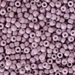 TOHO Round Beads 11/0 Opaque-Lustered Pale Mauve, TR-11-127
