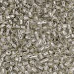 TOHO Round Beads 11/0 Silver-Lined Crystal