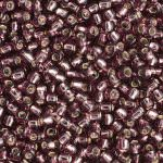TOHO Round Beads 11/0 Silver-Lined Med Amethyst