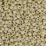 TOHO Round Beads 11/0 Opaque-Frosted Light Beige