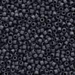 TOHO Round Beads 15/0 Matte-Color Opaque Gray, TR-15-611