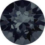 1088 Кристалл Swarovski Xirius Шатон, Graphite SS24