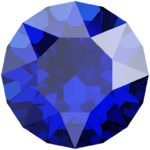 1088 Swarovski Xirius Chaton Crystal Majestic Blue SS24