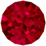1088 Swarovski Xirius Chaton Crystal Scarlet SS24