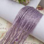 Two-cut Preciosa Beads, Stranded, 11/0 size, 25041 Purple color