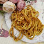 Viscose Chenille Thread, Light Brown Color, 1m