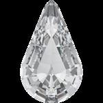4328 Xilion Pear Swarovski Crystal, Crystal F, 10x6