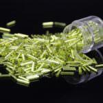 TOHO Bugle #3 Lime Green TB-03-24