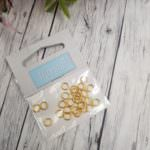 Jump Rings Gold, 5mm, Premium Quality, Pack of 30