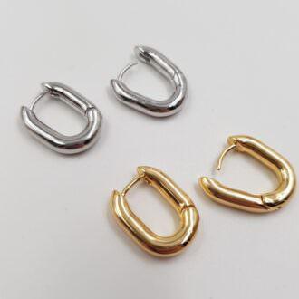 Latch Back Earring components Rhodium, Gold EC075, EC076