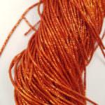 Канитель (трунцал), Оранжевый, 1 мм толщина, K4772