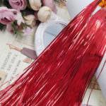 Плоская бить/металлические полоски для ручной вышивки, Красный, 1 мм