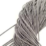 Smooth French Wire, 1 mm diameter, Grey Color, K6145