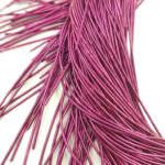 Smooth French Wire, 1 mm diameter, Fuchsia, K2015