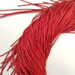Smooth French Wire, 1 mm diameter, Scarlet Red, K2073