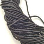 Spiral French Wire, 2 mm diameter, Black, K7692